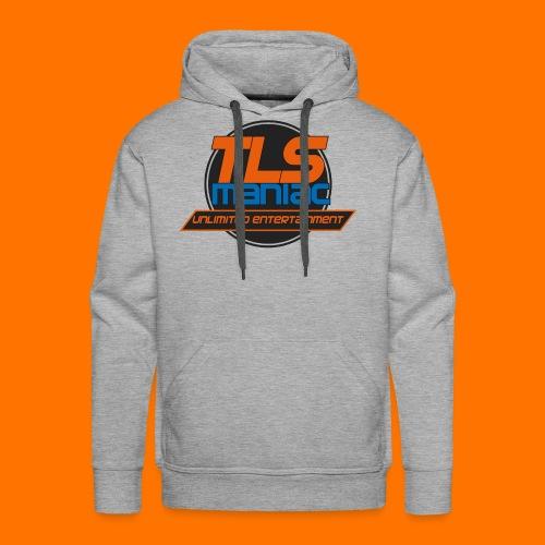 TLS Maniac Logo With Transparent Outline - Men's Premium Hoodie