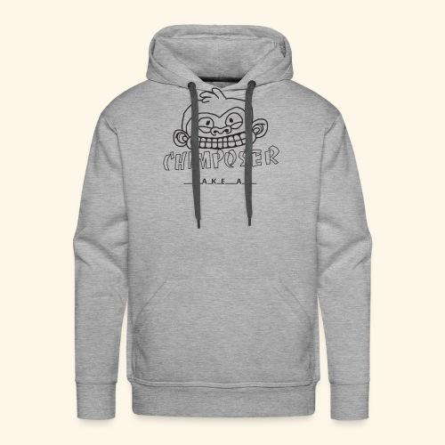 chimposer og fake af design - Mannen Premium hoodie