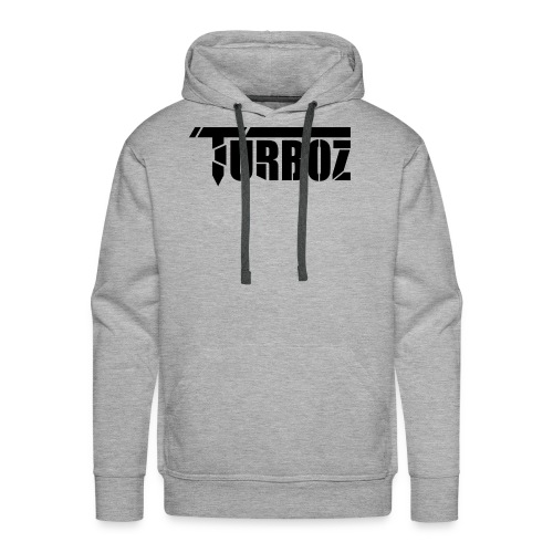 Turboz Black Text - Men's Premium Hoodie