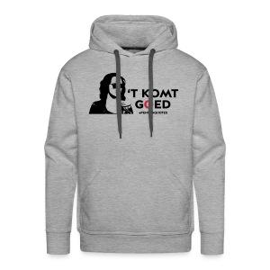t komt goed met hoofd - Mannen Premium hoodie