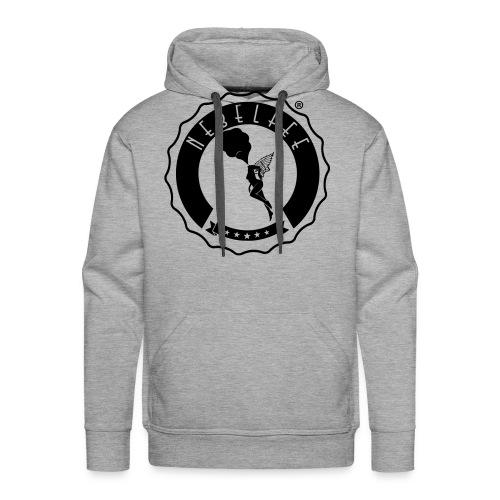 Nebelfee Street Logo schwarz - Männer Premium Hoodie