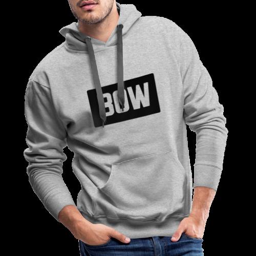 BOW Logo - Men's Premium Hoodie