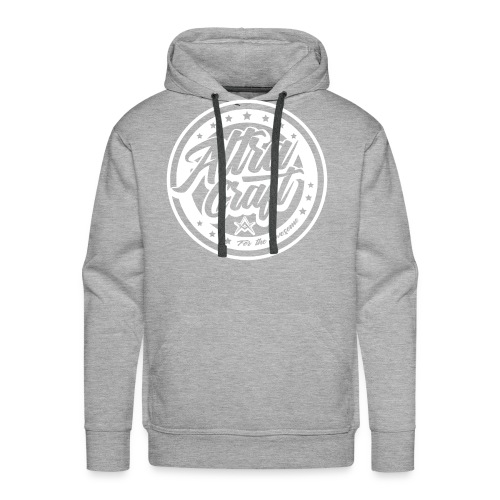 AltraCraft - For the awesome (White Logo) - Men's Premium Hoodie