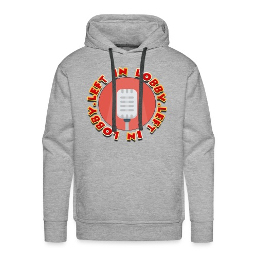 the left in lobby podcast - Men's Premium Hoodie