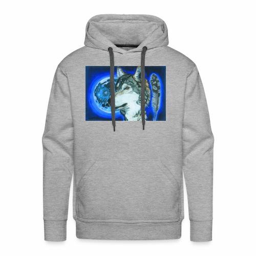 Wolf 1 - Männer Premium Hoodie