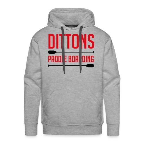 Dittons Paddle Boarding Logo - Men's Premium Hoodie