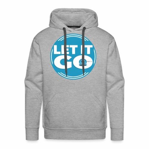 Let It Go // Meditare - Felpa con cappuccio premium da uomo