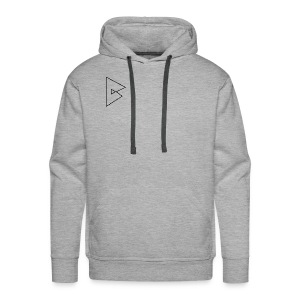 dstrbng official logo - Men's Premium Hoodie