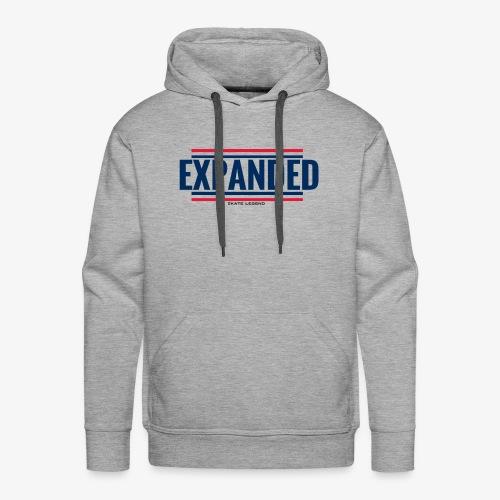 EXPANDED: original logo - Sweat-shirt à capuche Premium pour hommes
