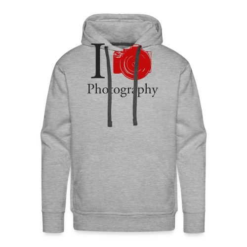 I Love Photography Collection - Männer Premium Hoodie