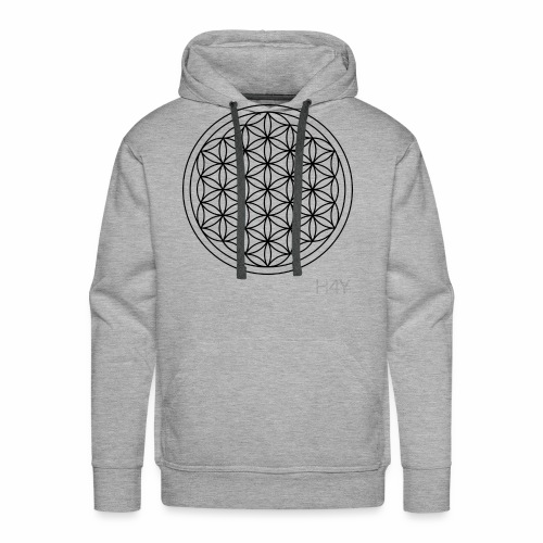 Flower Of Life - This Design Will Heal You - Herre Premium hættetrøje
