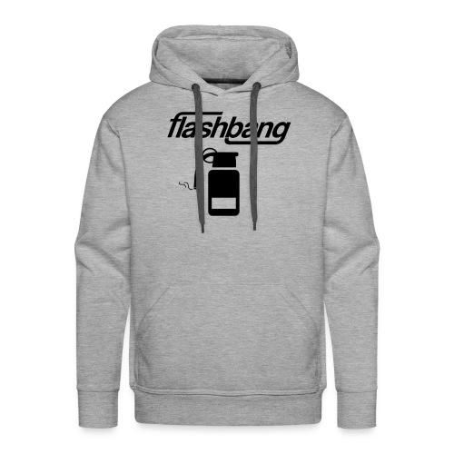FlashBang Logga - 100kr Donation - Premiumluvtröja herr