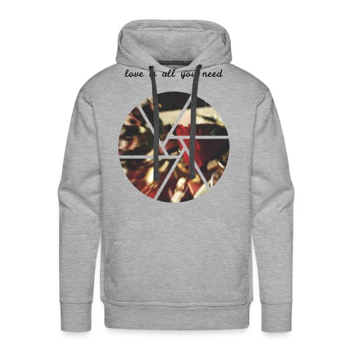Love is all you need - Männer Premium Hoodie