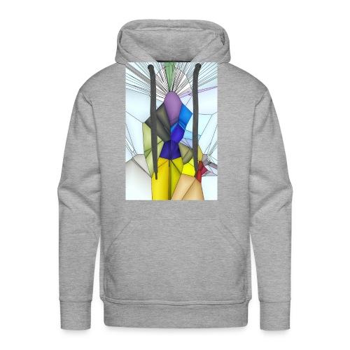Optimistik Art - Sweat-shirt à capuche Premium pour hommes