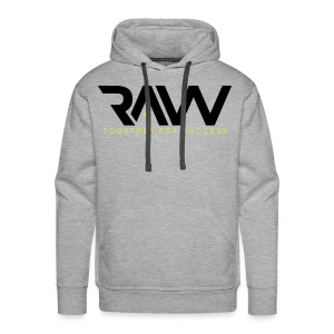 Raw - Sweat-shirt officiel - Homme - Sweat-shirt à capuche Premium pour hommes