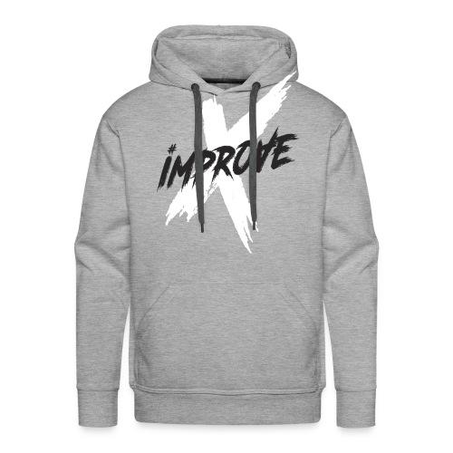 ImproveX - Sweat-shirt à capuche Premium pour hommes