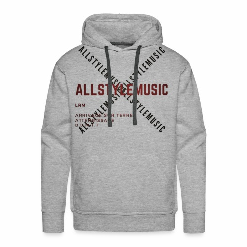 ALLSTYLEDESIGN - Sweat-shirt à capuche Premium pour hommes