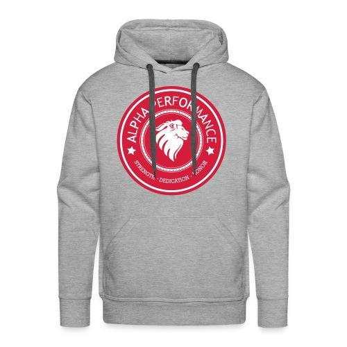 ALPHA PERFORMANCE - Mannen Premium hoodie
