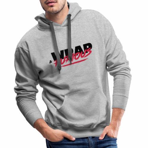 Wrapandfurio - Sweat-shirt à capuche Premium pour hommes