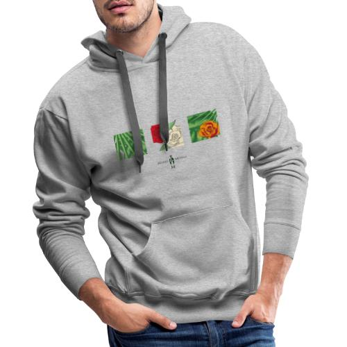 Urban Jungle | Flower Squares - Männer Premium Hoodie