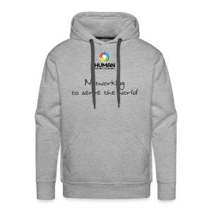 NETWORKING TO SERVE THE WORLD - Männer Premium Hoodie