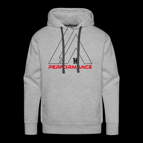 LA Performamce black/red - Männer Premium Hoodie