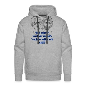 Mutha Ucka Flight of the Conchords - Men's Premium Hoodie