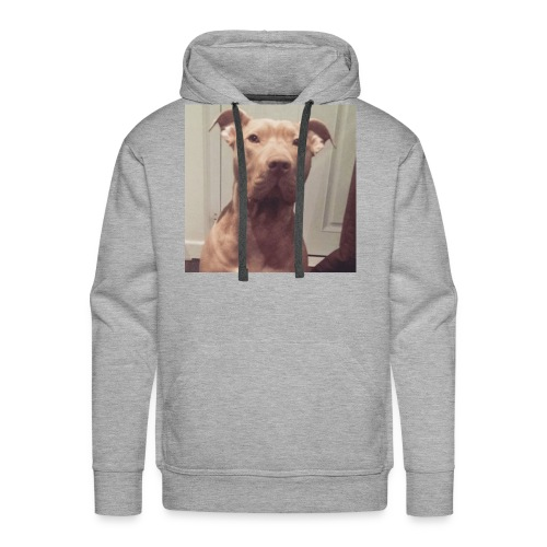 Hank with no collar ❤️ - Men's Premium Hoodie