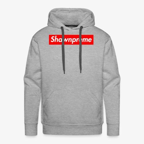 Shawnpreme logo - Herre Premium hættetrøje