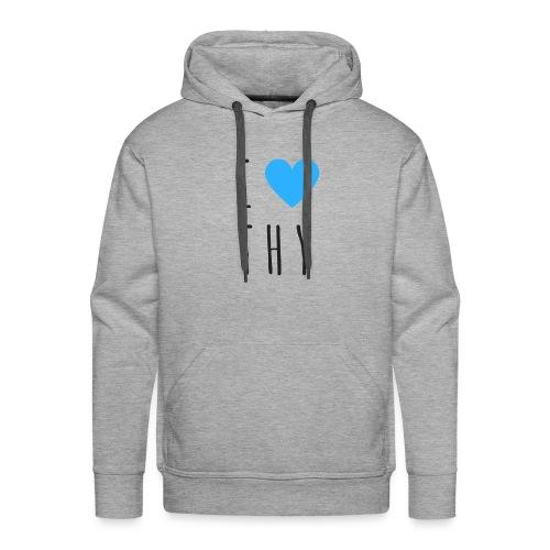 Dorfleibal | I Love THY - Männer Premium Hoodie
