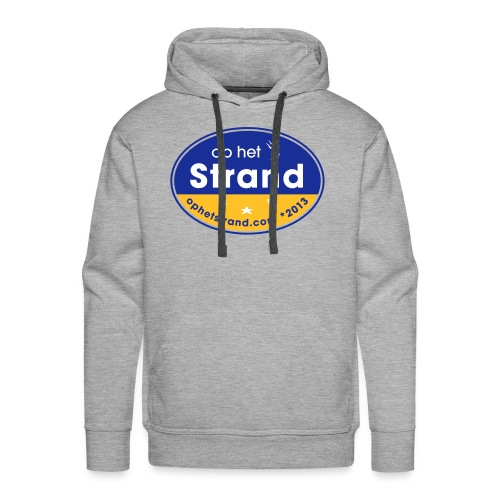 Op het Strand - Mannen Premium hoodie