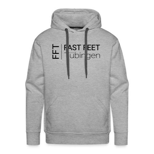 Fast Feet Tübingen - Text-Logo - Männer Premium Hoodie
