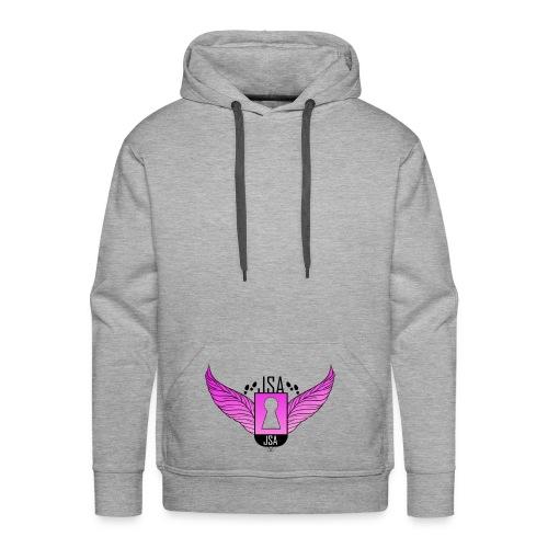 JSA keyhole collection pink - Premium hettegenser for menn