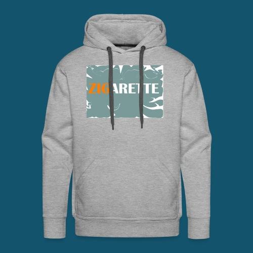Zigarette - Männer Premium Hoodie