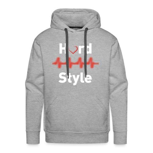 Hardstyle Heartbeat - Männer Premium Hoodie