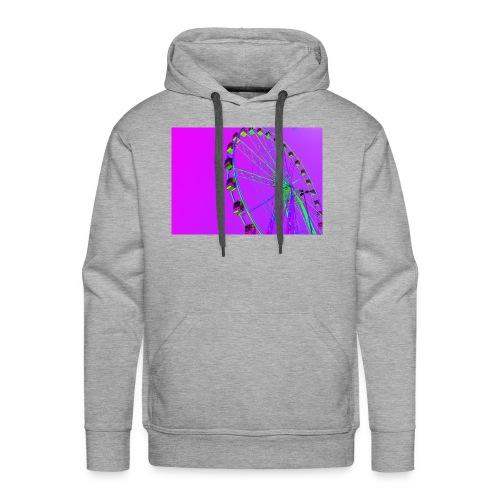 Trippy Ferris Wheel - Mannen Premium hoodie