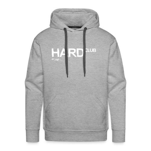 HardClub White - Männer Premium Hoodie