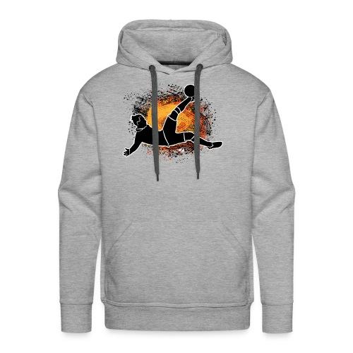GRIZB - Sweat-shirt à capuche Premium pour hommes
