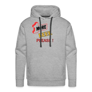 1More BEER please - Männer Premium Hoodie