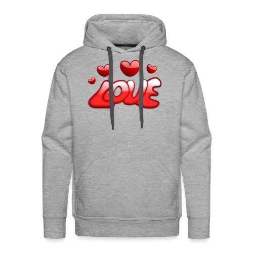 love 150277 1280 - Männer Premium Hoodie