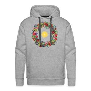 La Couronne des abeilles The Bee Crown - Sweat-shirt à capuche Premium pour hommes