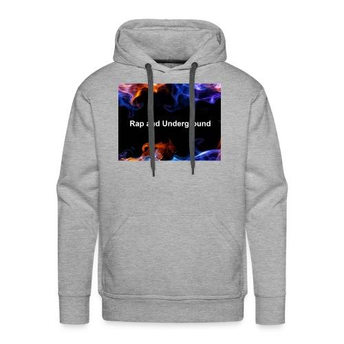 Rap and underground logo - Männer Premium Hoodie