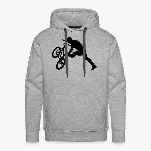 bmx - Sweat-shirt à capuche Premium pour hommes