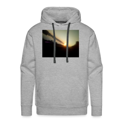 the morning - Mannen Premium hoodie