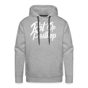 Rot Op Pestkop - Curly Black - Mannen Premium hoodie