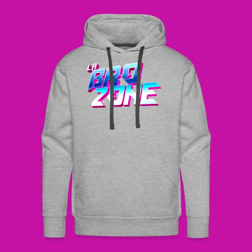 La BroZone ! - Sweat-shirt à capuche Premium pour hommes