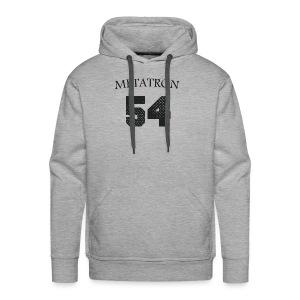 META FOOT 54 - Sweat-shirt à capuche Premium pour hommes