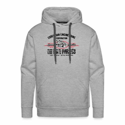 parsecs - Sweat-shirt à capuche Premium pour hommes