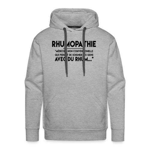 Rhumopathie - Sweat-shirt à capuche Premium pour hommes