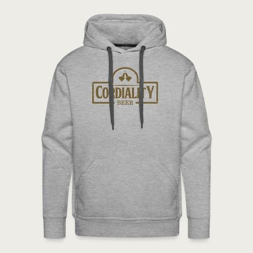Cordiality Logo 1 - Men's Premium Hoodie